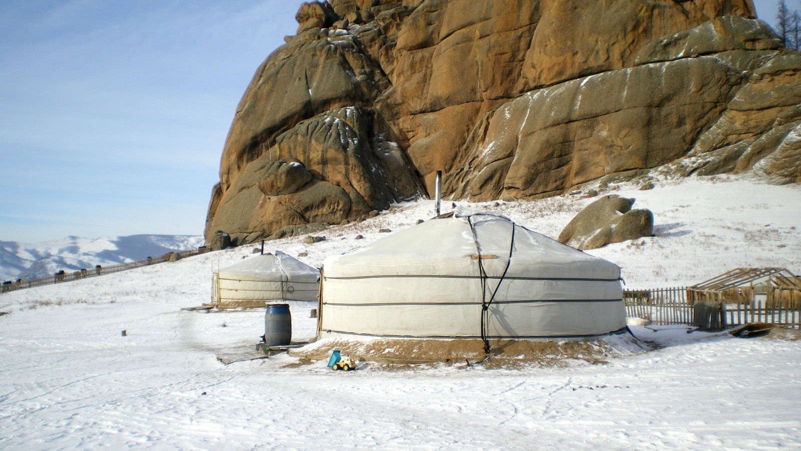 Mongolei: Winter im Buuveit-Camp