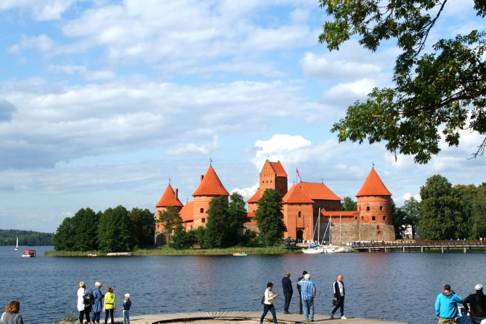 Wasserburg in Trakai.
